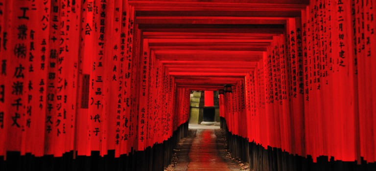 A Story about 'Torii' (A gateway at the entrance to a Shinto shrine)